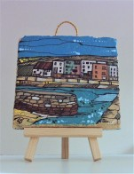 Hand Painted St Andrews Scene Tile