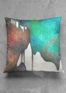 DISTANT - Statement Square Cushion